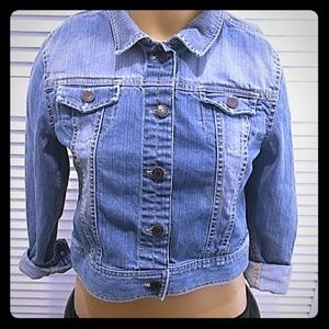 Girls Tucker +Tate Denim Jacket Nordstrom XL 16